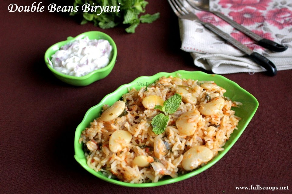 Double Beans Biryani