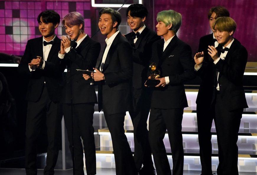 Grammy 2019 Bts: BTS Arrives In Style At The 2019 Grammy Awards