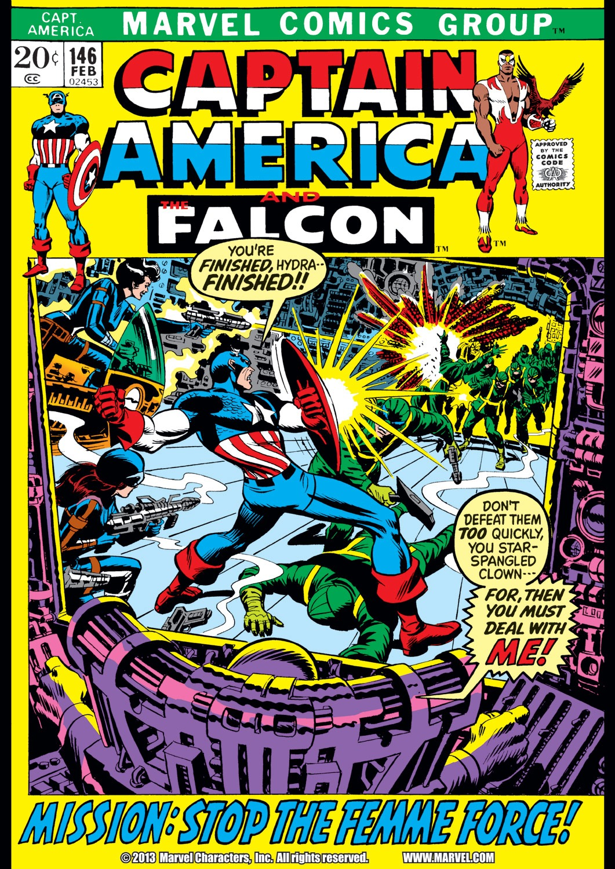 Captain America (1968) Issue #146 #60 - English 1