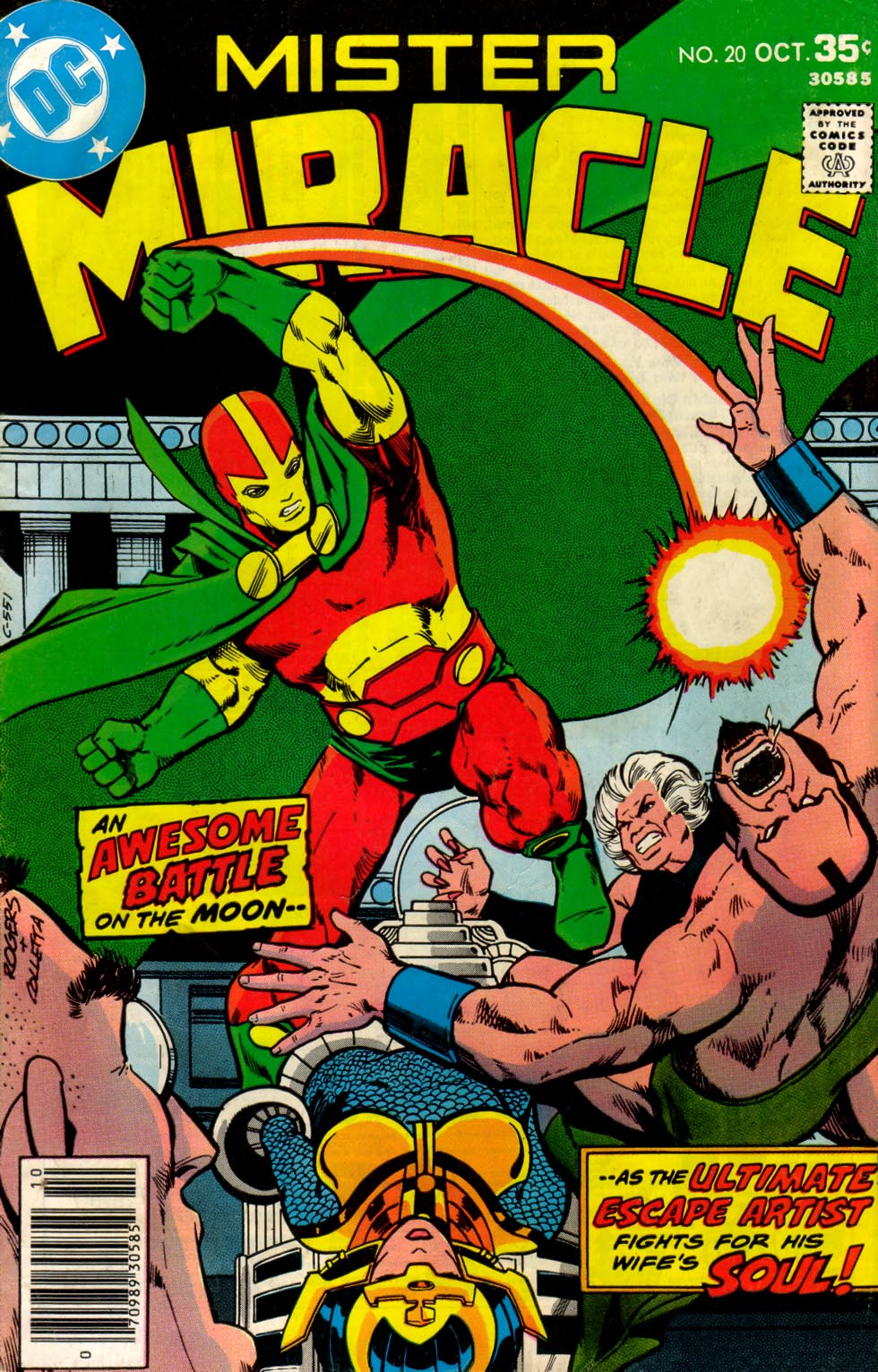 Mister Miracle (1971) issue 20 - Page 1