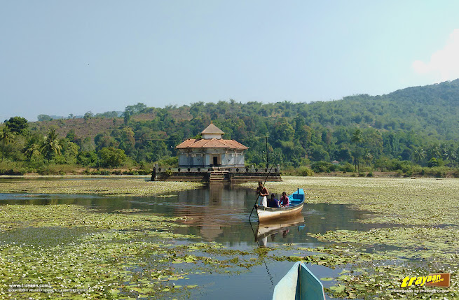 Kere Basadi, the Lake Temple of Varanga, a Jain Temple in Karkala taluk of Udupi district, in Karnataka