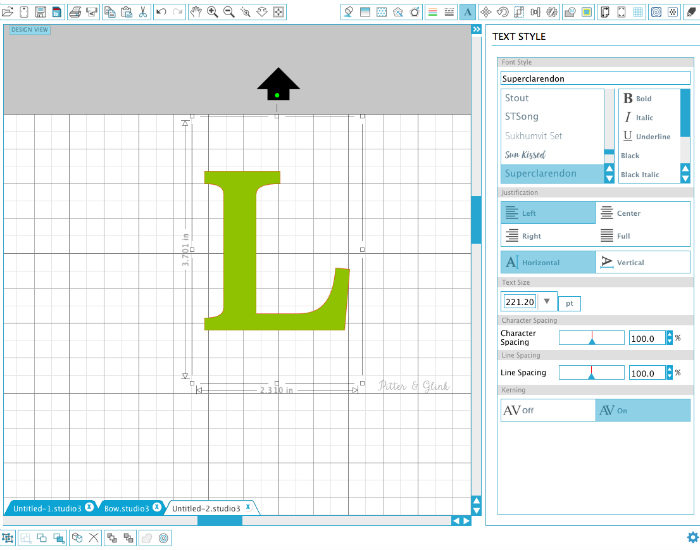 Creating a Monogram Design in Silhouette Studio