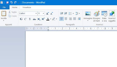 differenza wordpad notepad