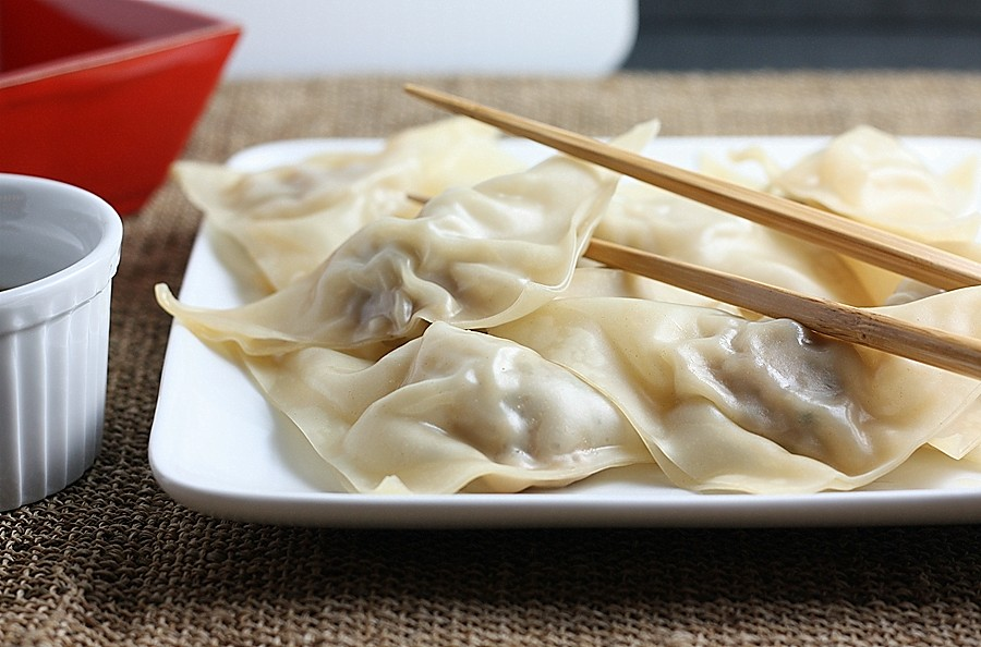 Chinese Boiled Dumplings Taiwan's Potstickers