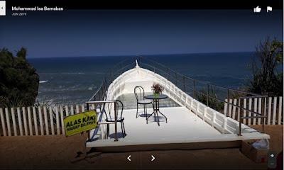 Pantai Nguluran, Tempat Selfi Anti Mainstream di Jogja - Pantai Terindah dengan Sensasi Teras Kaca diatas Tebing Pantai Gunungkidul Yogyakarta