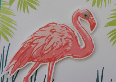Stampin' Up! UK Independent  Demonstrator Susan Simpson, Craftyduckydoodah!, Fabulous Flamingo, Joy of Sets Challenge, Supplies available 24/7 from my online store,