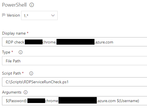 PowerShell - How to overcome Azure VM's fixed resolution