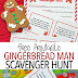 Free Printable Gingerbread Man Scavenger Hunt