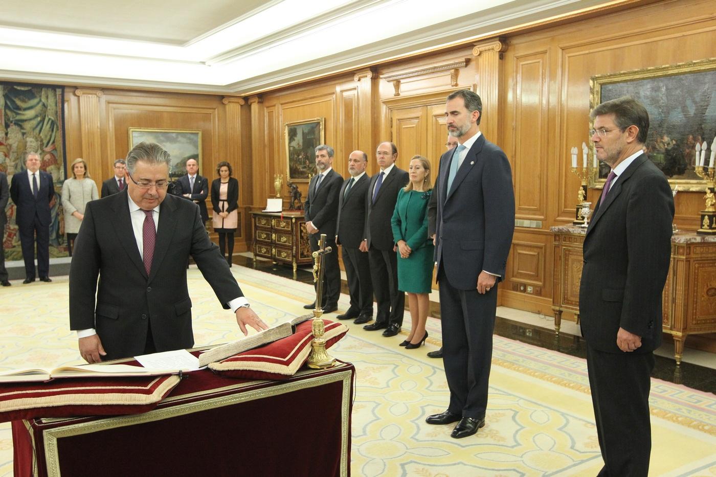 Gel n noticias los nuevos ministros del gobierno que for Nuevo ministro del interior 2016