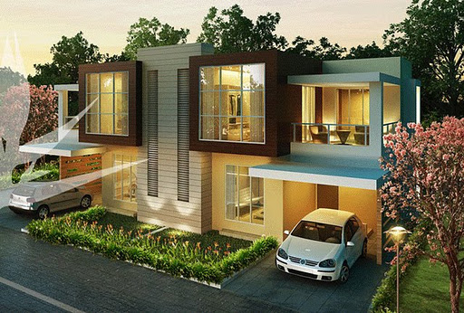 How To Design Home Front Elevation : Modern front elevations india ayanahouse