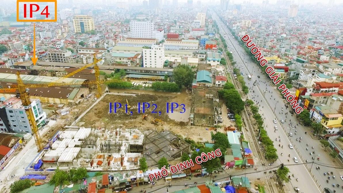 Vị trí đắc địa trung tâm Hà Nội của dự án Sky View