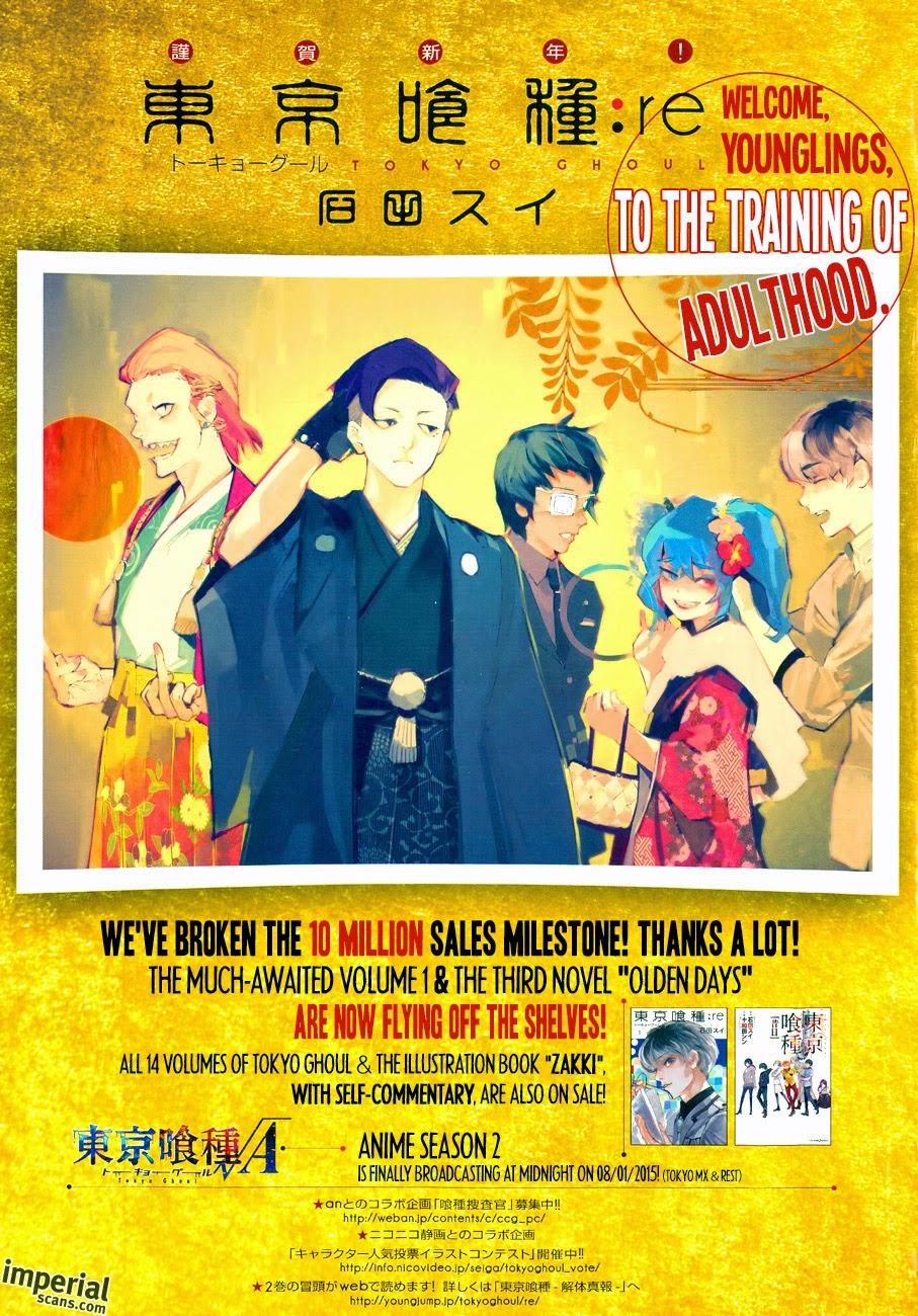 Tokyo ghoul zakki re english