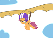 Scootaloo My Little Hang Glider juego