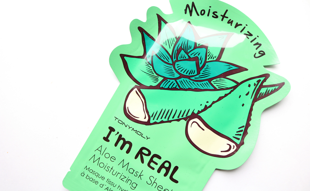 Tony Moly I'm Real Aloe Moisturising Sheet Mask