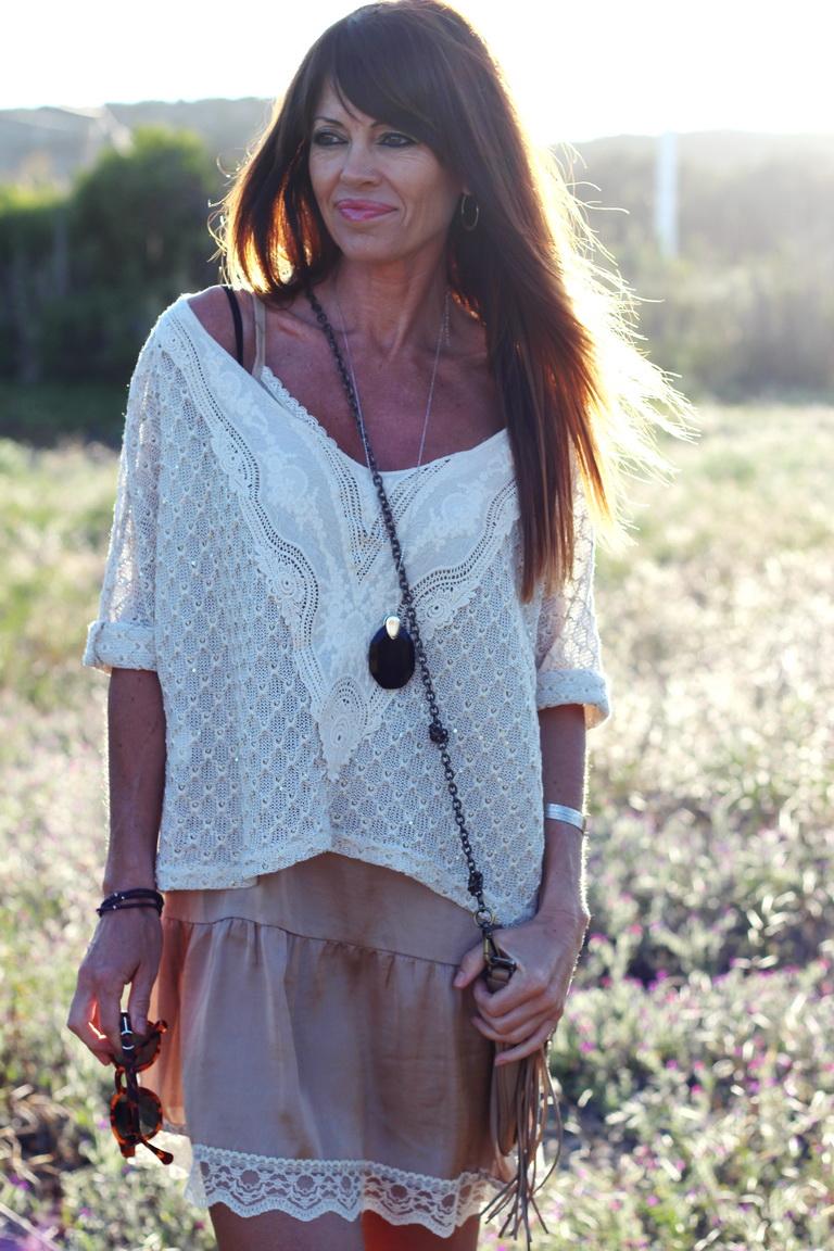 Estilo hipppie, Hippie Chic, Crochet, tendencias 2016, fashion blogger, Calzados Sandra, Anquelo Joyeros