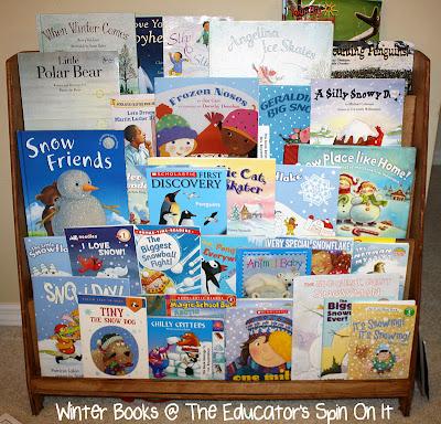 Winter Themed Books for Kids