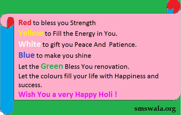 holi best wishes  by  picture
