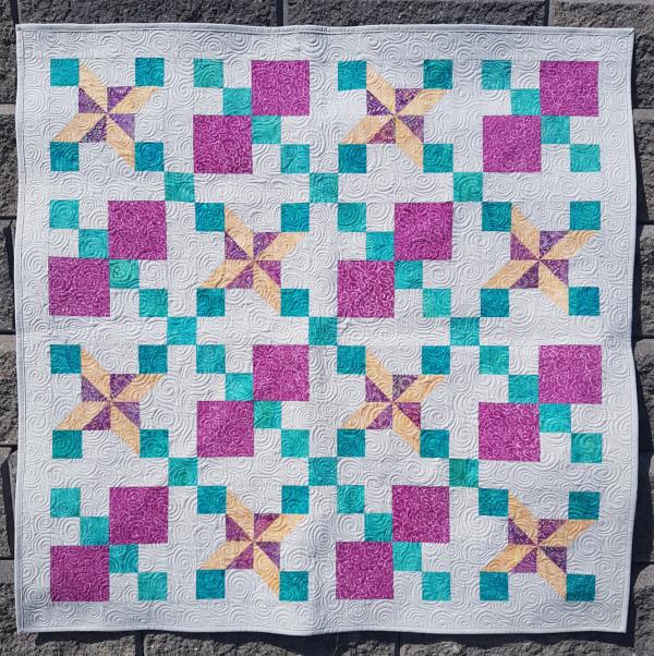 Baby quilt | DevotedQuilter.com