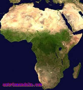 Nama - Nama Negara Di Afrika Dalam Bahasa Arab