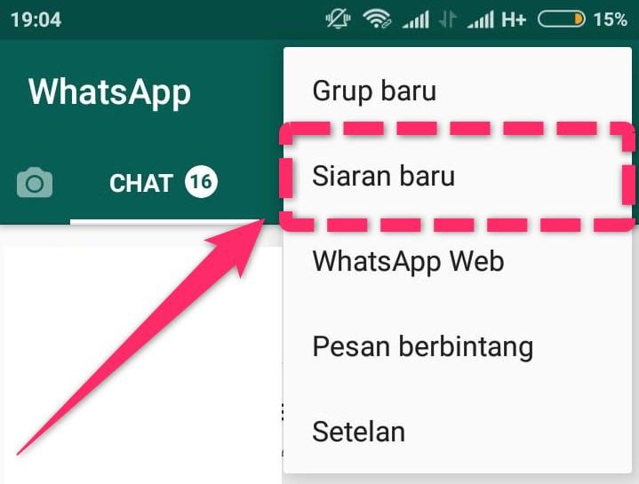 Cara Broadcast Pesan Whatsapp Ke Banyak Orang Sekaligus Jagoan Kode