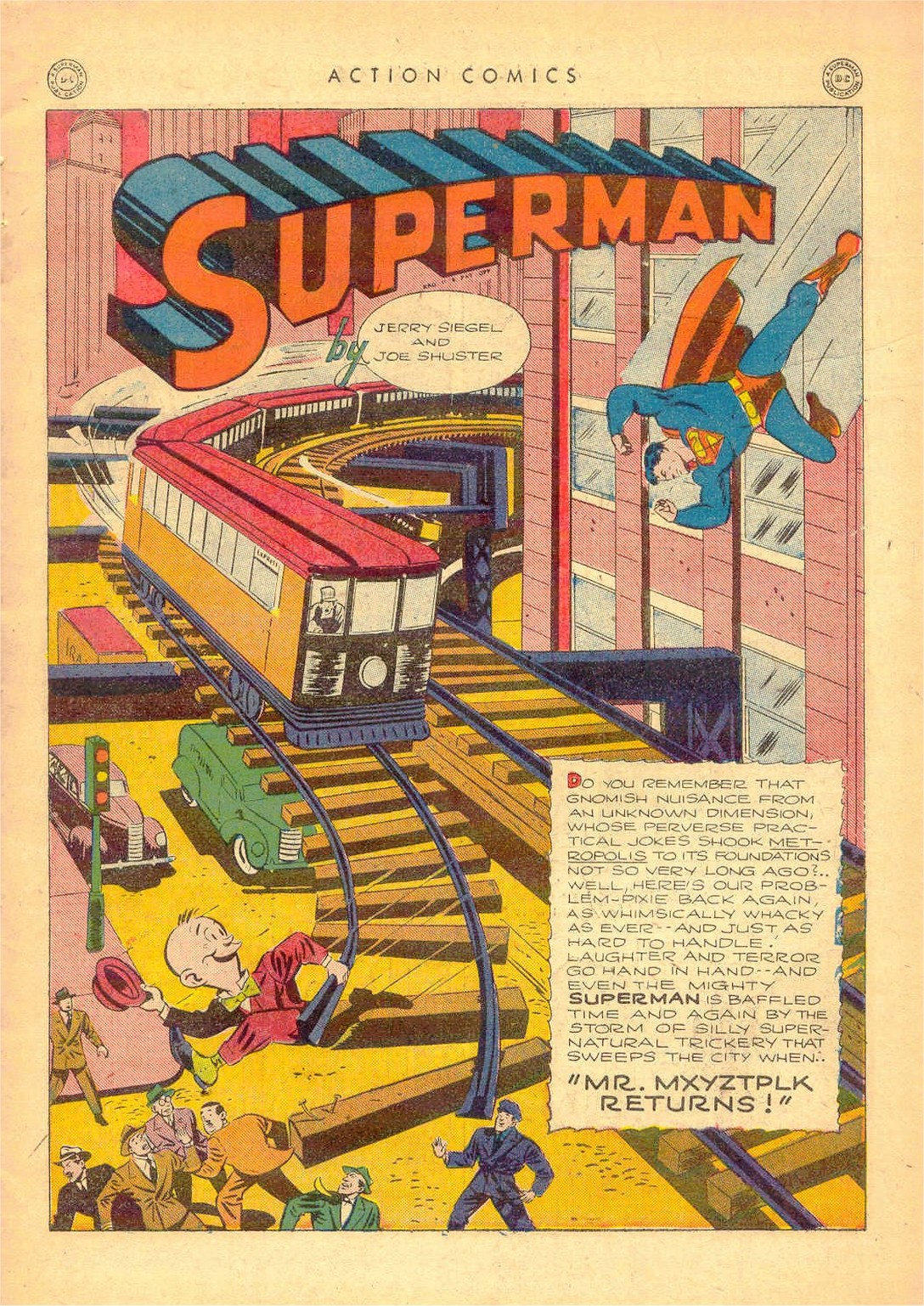 Read online Action Comics (1938) comic -  Issue #80 - 2