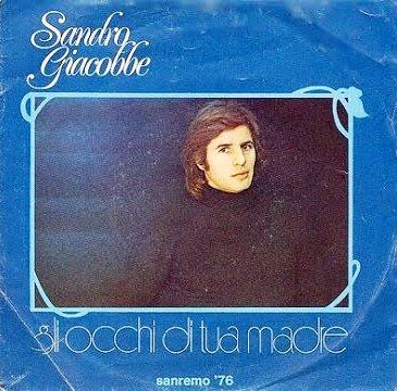 Sanremo 1976 - Sandro Giacobbe  - Gli occhi di tua madre
