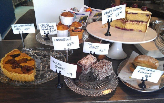 Our Kitchenette, Hawthorn, cakes