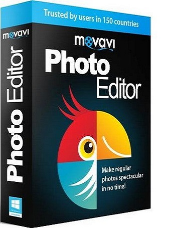 Movavi Photo Editor 5.1.0 poster box cover