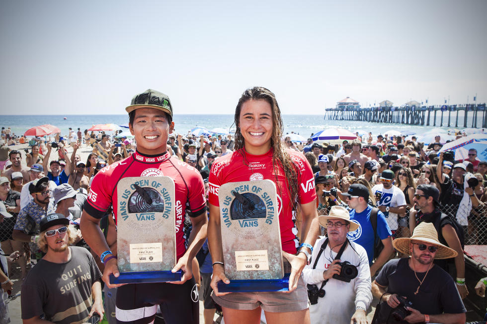 0 Defay Ohhara Vans US Open of Surfing Foto WSL Sean Rowland