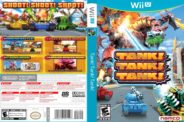 Capa Tank! Tank! Tank! Wii U