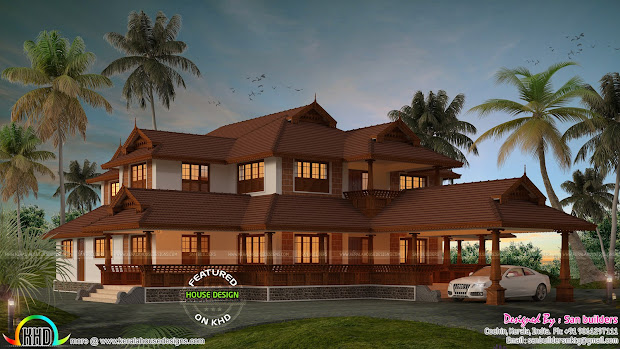 Kerala Traditional House Plans With Modern Design