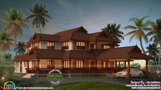 Traditional Kerala Home Designs