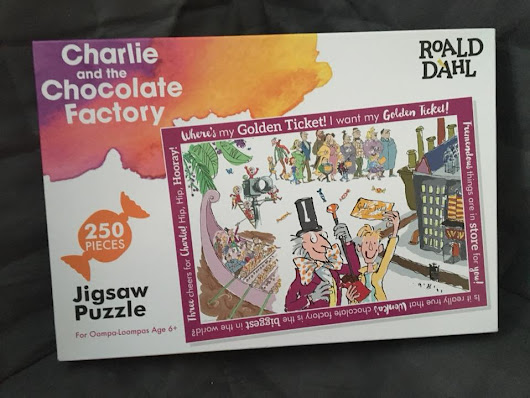 Charlie & The Chocolate Factory Puzzle From Paul Lamond Games Review & Giveaway.