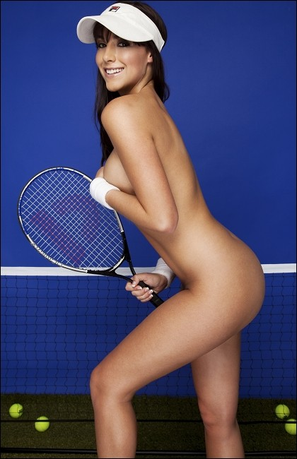 Real tennis player nude