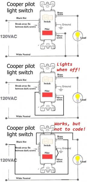 Attic Fan Thermostat Wiring Diagram Three Way Dimmer Switch Install - Pilot Override
