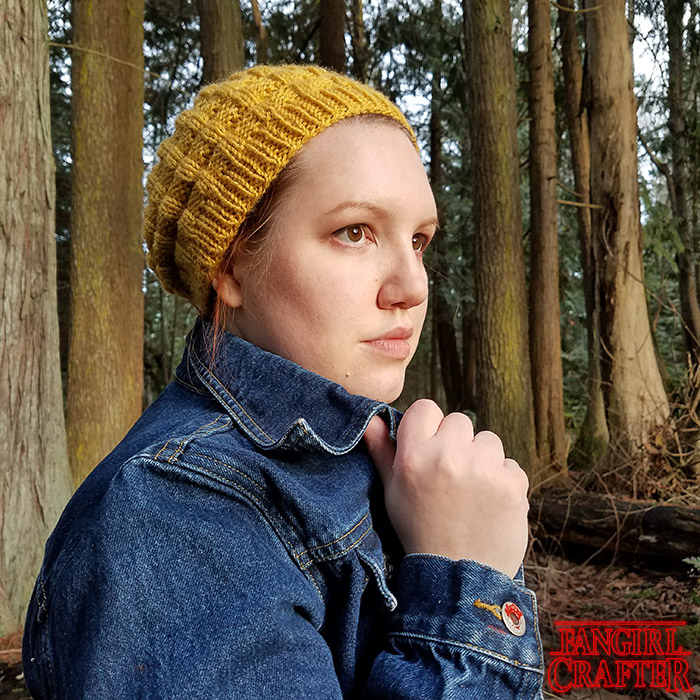 Stranger Things Eleven's Eggo Hat and casual cosplay