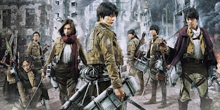Download Film Attack on Titan (2015) Bluray 720p Subtitle Indonesia