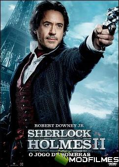 Capa do Filme Sherlock Holmes: O Jogo de Sombras