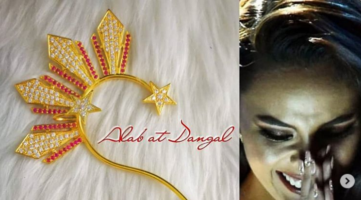 "A Closer Look At Catriona Gray's ""Patriotic"" Ear Cuffs"