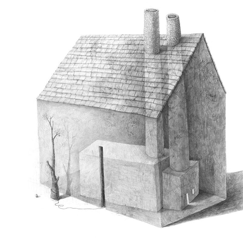 Stefan-Zsaitsits-05 Houses: Drawings by Stefan Zsaitsits Design