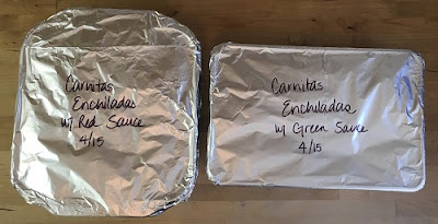 Freezer Meal Recipe: Enchiladas
