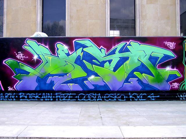 Session Graffiti - Palais de Tokyo - Paris 2006