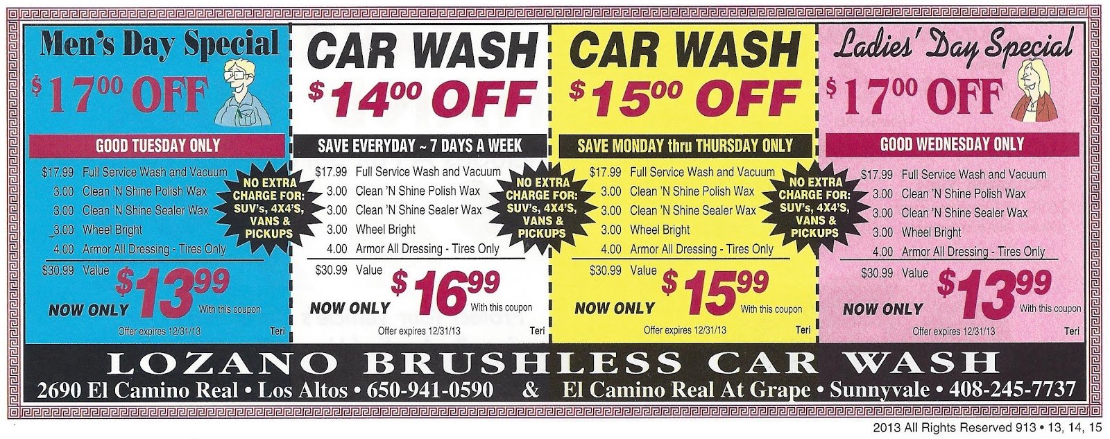 Car Wash Near Me Prices >> Mountain View Car Wash Coupons Staples Furniture Coupon