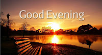 Good Evening Wishes Wallpaper