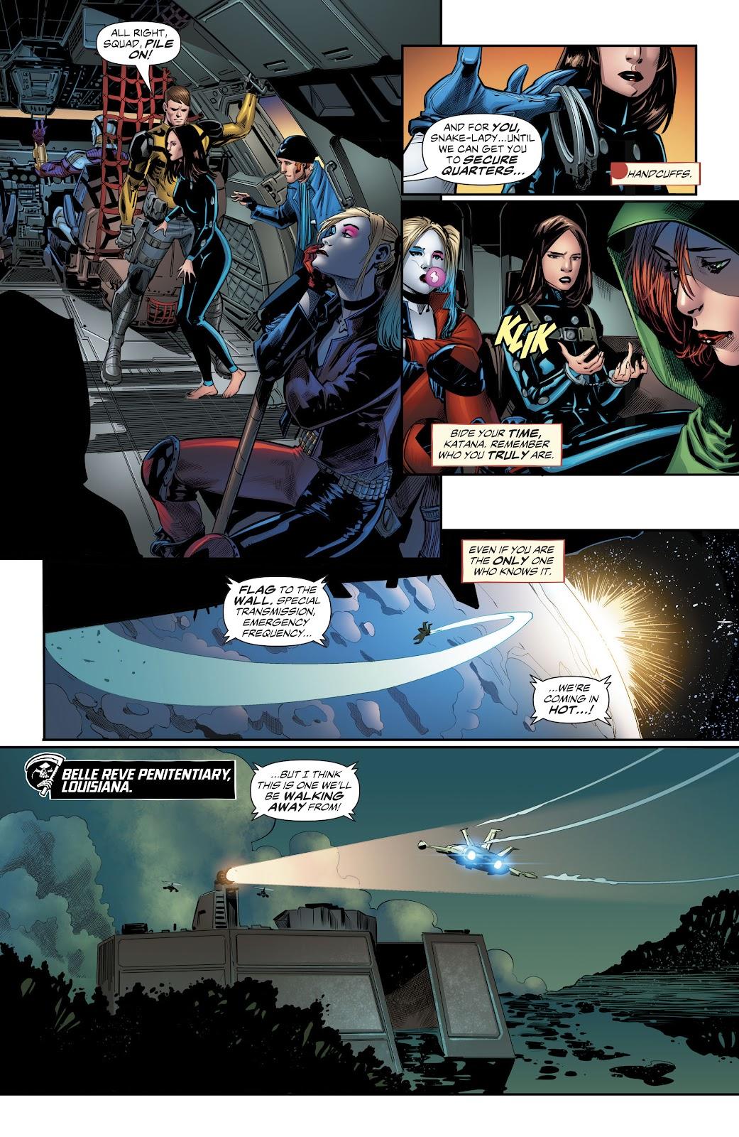 Read online Suicide Squad Black Files comic -  Issue #4 - 10