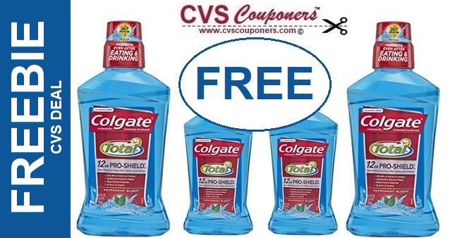 FREE CVS Colgate Mouthwash Deal - 5/19-5/25