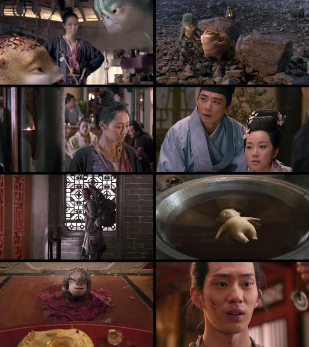 Monster Hunt 2015 Dual Audio Hindi 480p BDRip 350mb
