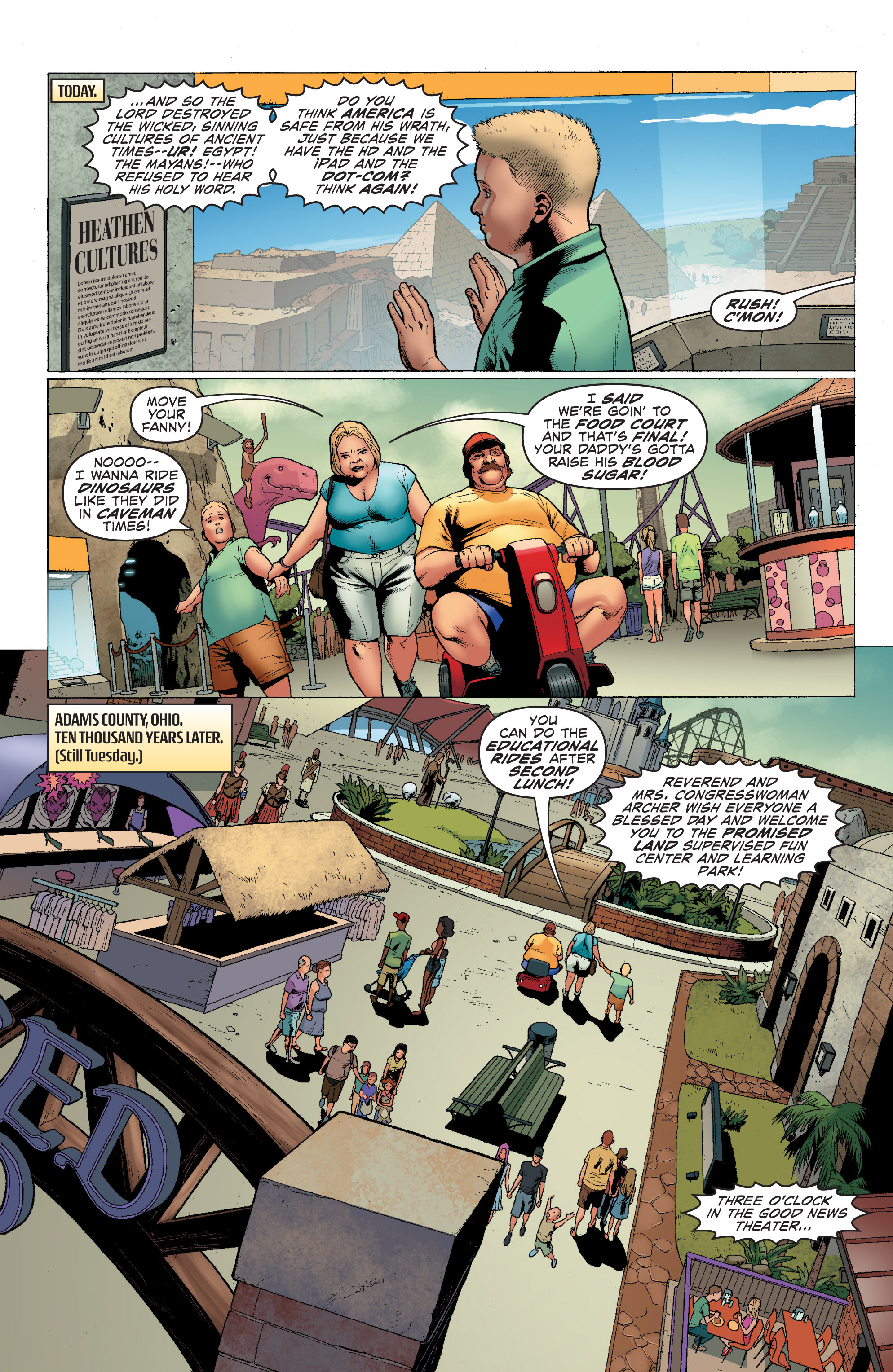 Read online Archer and Armstrong comic -  Issue #1 - 8