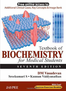 Textbook of Biochemistry for Medical Students - DM Vasudevan - 7th Edition