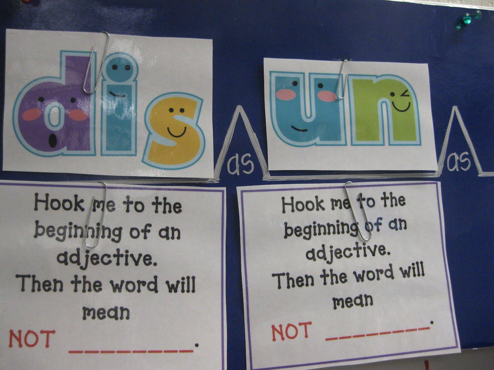 Third Grade Thinkers Breaking Big Words Prefixes